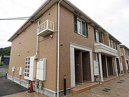 滋賀県野洲市小篠原の賃貸アパートの外観