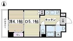 デュオステージ大塚[311号室]の間取り