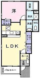 サニ−・レジデンスA[101号室]の間取り
