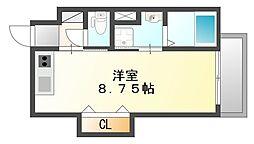 TERUMA MAREII鷹匠町テルママーレII)[1階]の間取り