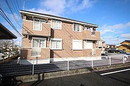 栃木県鹿沼市万町の賃貸アパートの外観