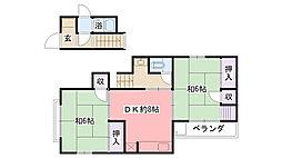[一戸建] 兵庫県西宮市笠屋町 の賃貸【/】の間取り