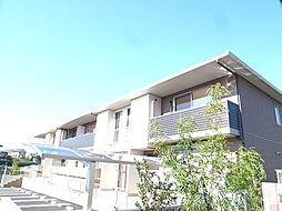 福岡県福岡市東区八田2丁目の賃貸アパートの外観