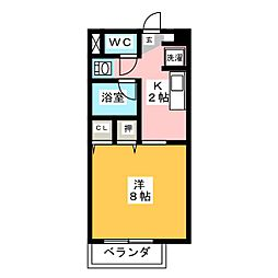 Sun Flower正木I[1階]の間取り