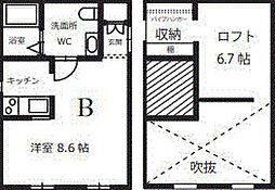 プリマG壱番館[2階]の間取り