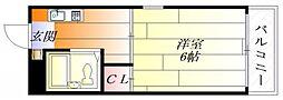 プレアール蔵垣内[3階]の間取り