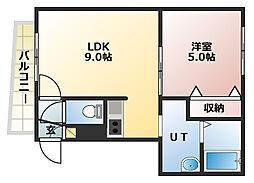 M-STAGE[4階]の間取り