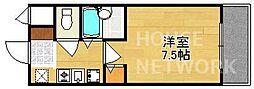 グランソフィア[B106号室号室]の間取り