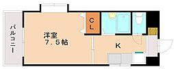 サニーピア弥永[4階]の間取り