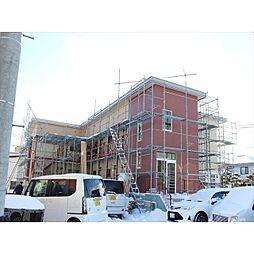 北海道北見市幸町7丁目の賃貸アパートの外観