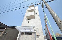 愛知県名古屋市中村区亀島2丁目の賃貸アパートの外観