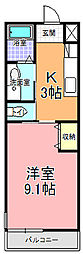 SAMURAI HITACHI[207号室]の間取り