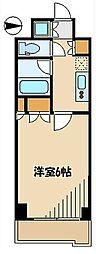 ルーブル羽田萩中 bt[306kk号室]の間取り
