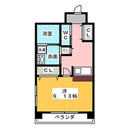 さるびあ牛田[5階]の間取り