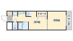 エリオットグリーン2[3階]の間取り