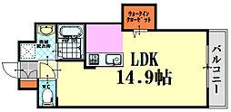 NKSビル[1002号室]の間取り