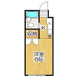 コットンハウス17[402号室]の間取り
