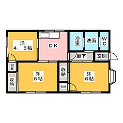 [一戸建] 静岡県掛川市下垂木 の賃貸【静岡県/掛川市】の間取り