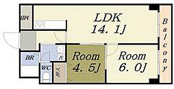 第8柴田ビル[3階]の間取り