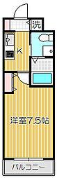 ステージファースト戸越銀座[2階]の間取り