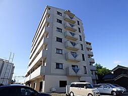 兵庫県加古川市加古川町河原の賃貸マンションの外観