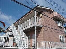 茨城県守谷市けやき台6丁目の賃貸アパートの外観