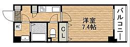 大阪府大阪市東成区中道4丁目の賃貸マンションの間取り