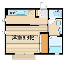 東京都練馬区石神井町7の賃貸アパートの間取り