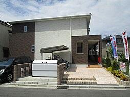 大阪府高槻市芝生町4丁目の賃貸アパートの外観