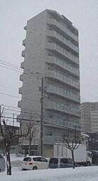 北海道札幌市厚別区厚別中央三条5の賃貸マンションの外観