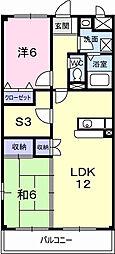 メゾン・コンセール[4階]の間取り