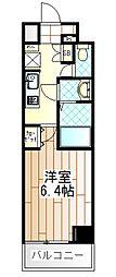 プリモ・レガーロ町田[6階]の間取り