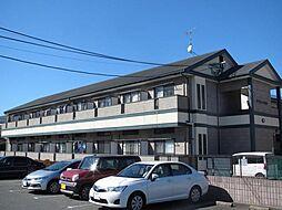 福岡県福岡市東区香椎2の賃貸アパートの外観