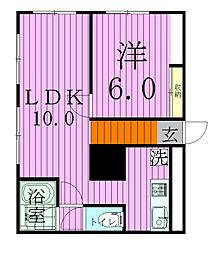 五香レジデンス[3階]の間取り