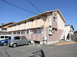 愛知県知多市新知台2丁目の賃貸アパートの外観