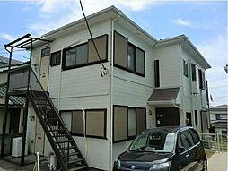 神奈川県横浜市神奈川区浦島丘の賃貸アパートの外観