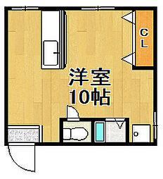 良三マンション[3階]の間取り