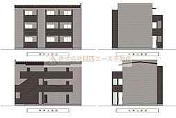 CASA VIVACE 北野田(カーサ ヴィヴァーチェキタノダ)[2階]の外観