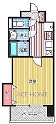 Luxe新大阪III[817号室号室]の間取り