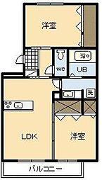ミーテ3[1階]の間取り