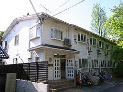 コーポ朝風[2階]の外観