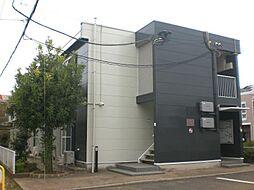 千葉県松戸市六実2丁目の賃貸アパートの外観