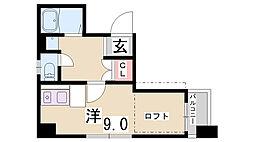 URBビル[8階]の間取り