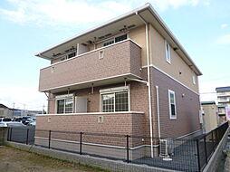 岡山県倉敷市水島南幸町の賃貸アパートの外観