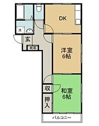 メゾニティープロローグ[1階]の間取り