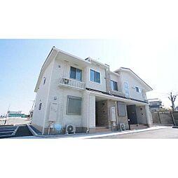 三重県津市川方町の賃貸アパートの外観