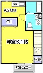 ローラスハイム[2階]の間取り