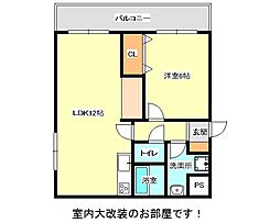 兵庫県神戸市垂水区坂上3丁目の賃貸マンションの間取り