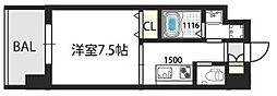 グランドゥーエ永和駅前[202号室]の間取り