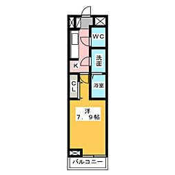 (仮)石田3丁目新築[2階]の間取り
